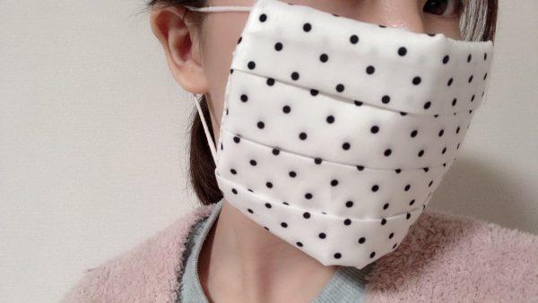 縫わないマスクカバー